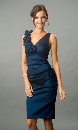 Robe cocktail mariage luxe