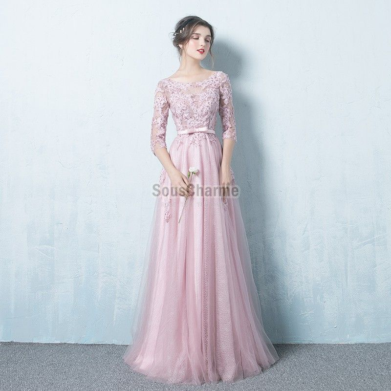 Robe cocktail mariage manche