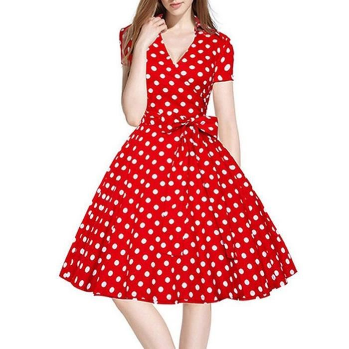 Robe année 50 pin up mariage