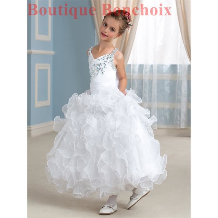 Robe mariage fille 9 ans