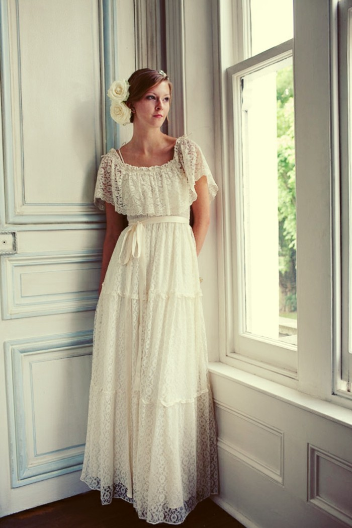 Robe pour mariage vintage chic